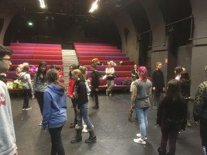 "Theaterprobe ""Odyssee"" 1"