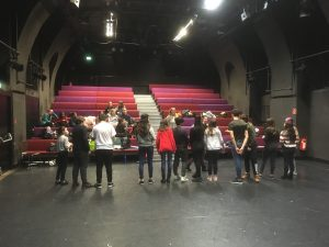 "Theaterprobe ""Odyssee"" 3"